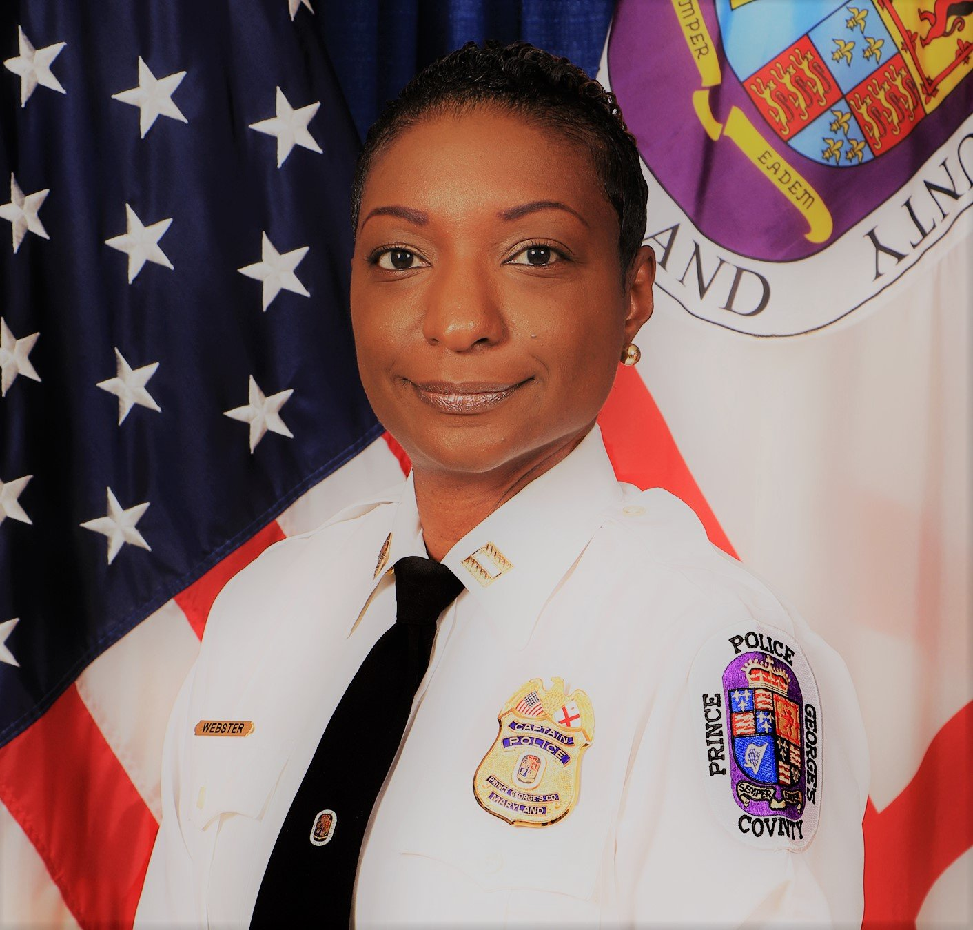 Women in Law & Justice Panelist Major Lakina Webster Prince George's County Police Dept.