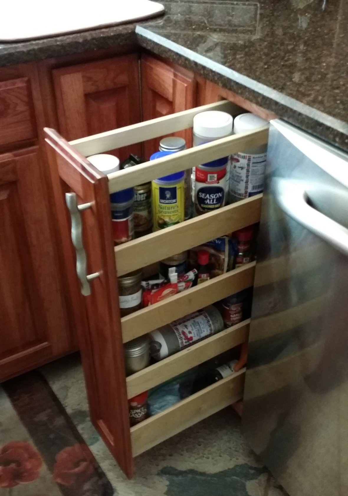 Can and/or Spice Slide out Rack