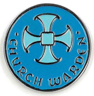 Churchwarden's lapel badge
