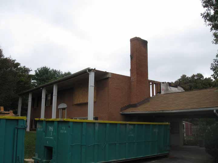 Home During Restoration