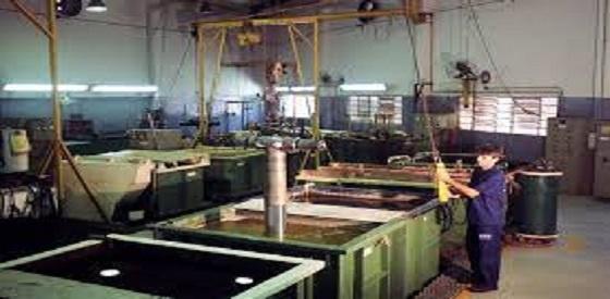 Acabados Industriales -  - terminado de color en metales