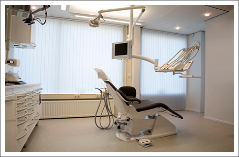 Inside of dentist office||||