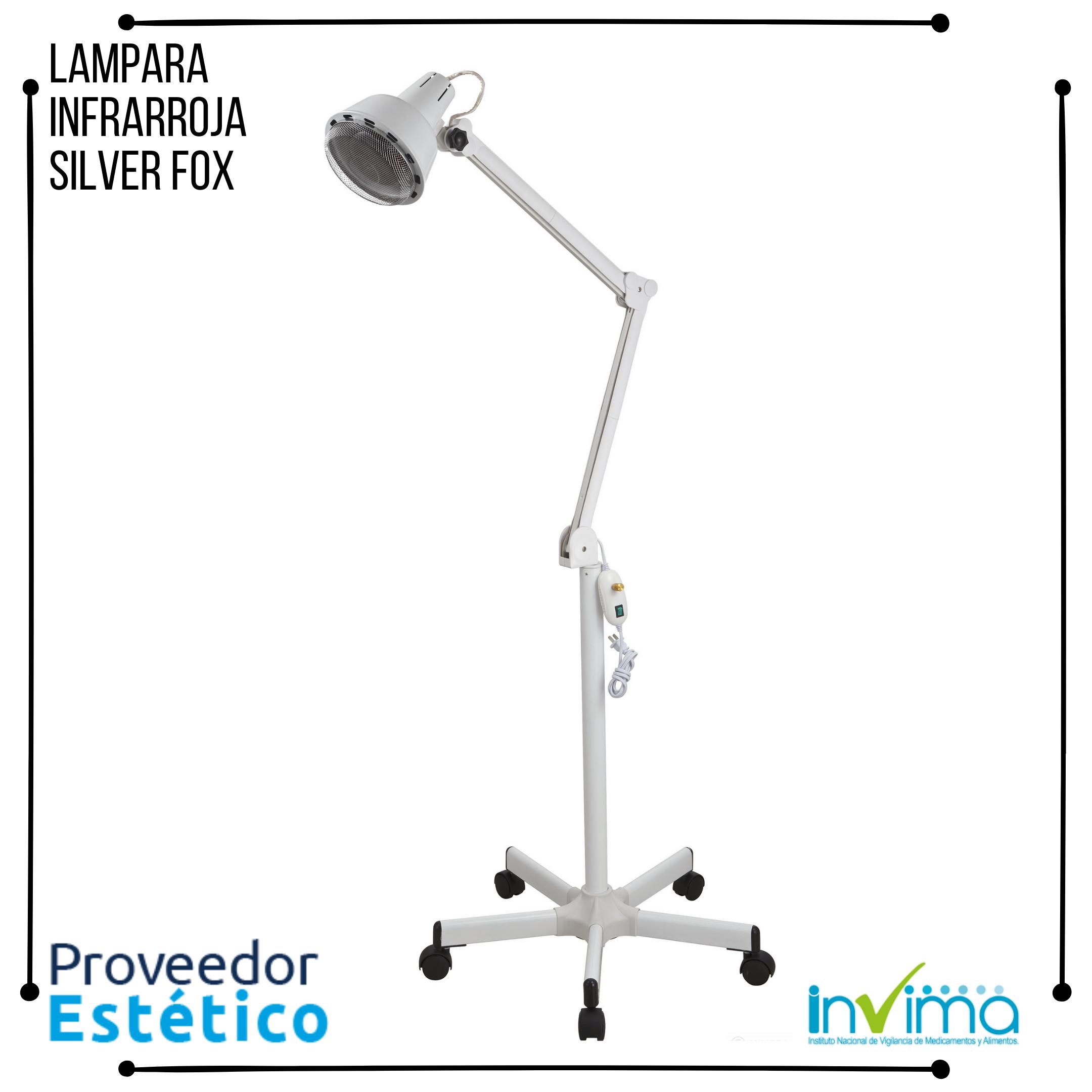 Lampara Infrarroja Silver Fox 1003