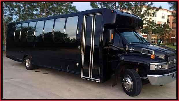30-32 Passenger Limousine Bus