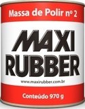 MASSA DE POLIR NO 2  MAXI RUBBER
