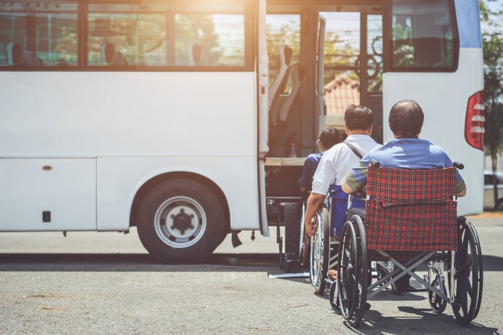 Transportation Services provided for elderly and disabled people provided by Tootl Transport