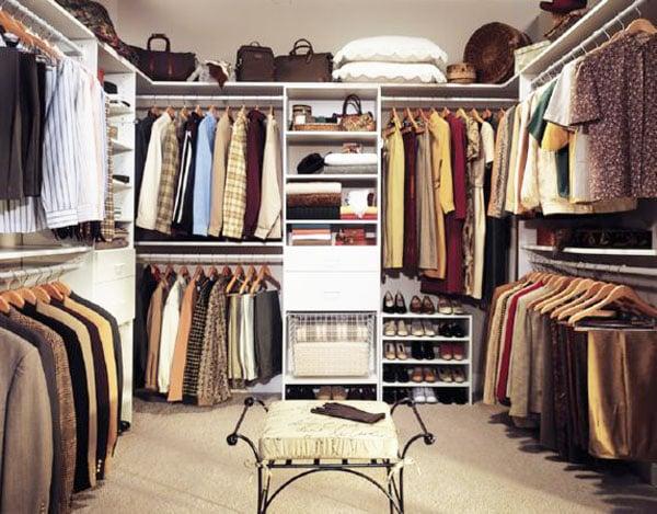 custom closet walk-in closet idea in Atlanta