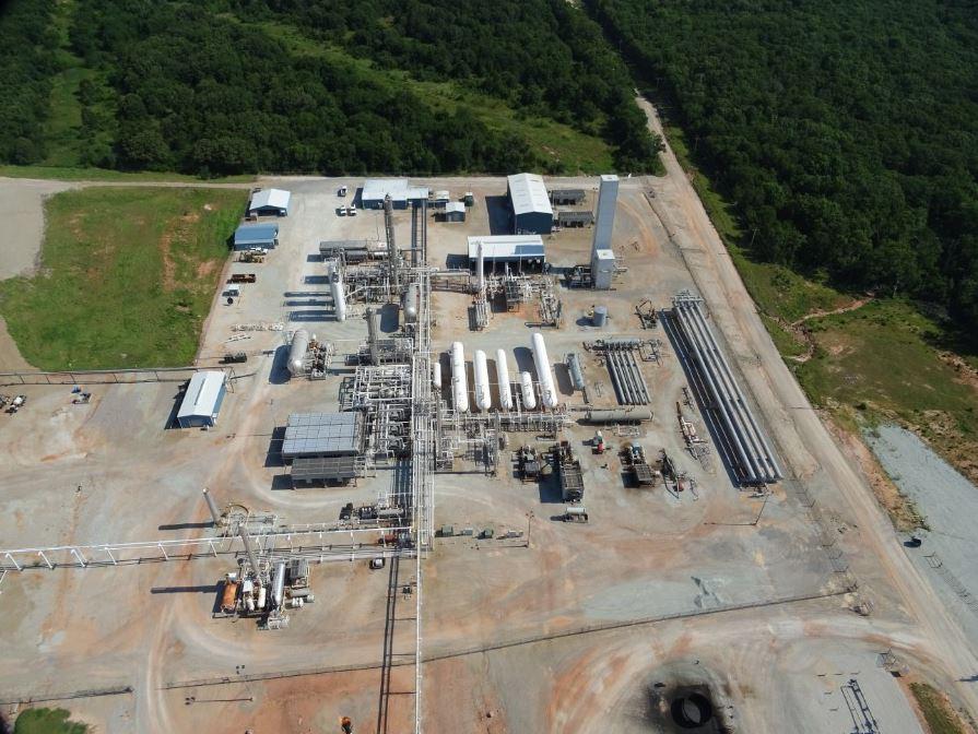 Aerial Shot of Industrial Site