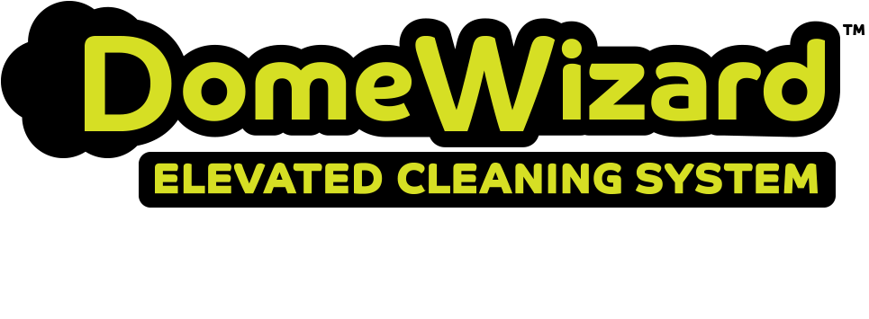 DomeWizard - Elevated Cleaning System with 3 Modes for cleaning camaeras, sensors, screens, solar panels, and more.