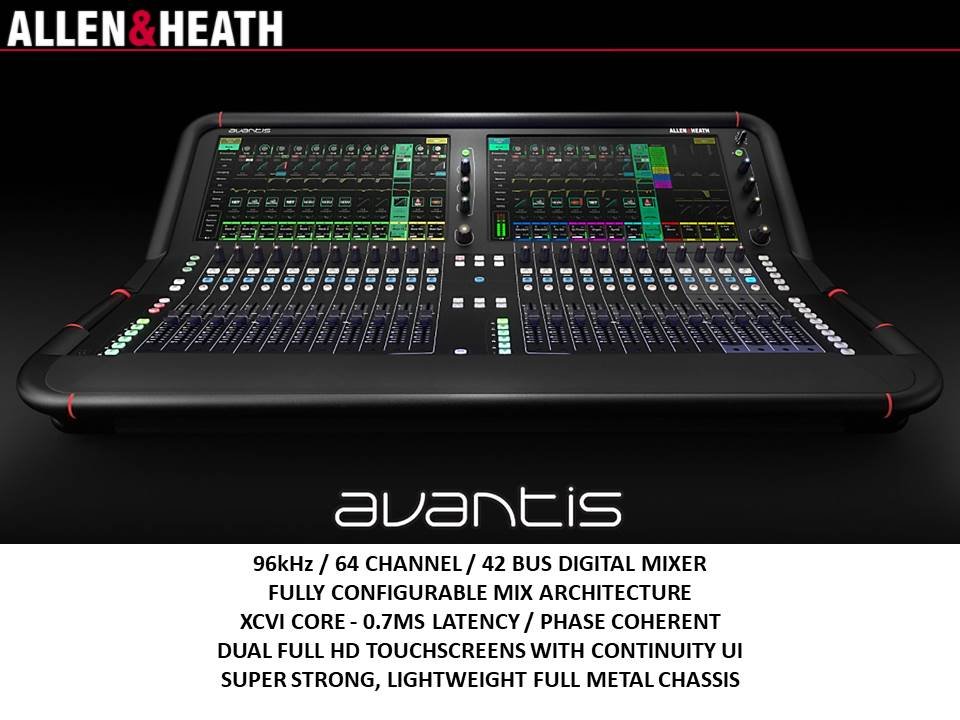 Allen & Heath Avantis 96K Console