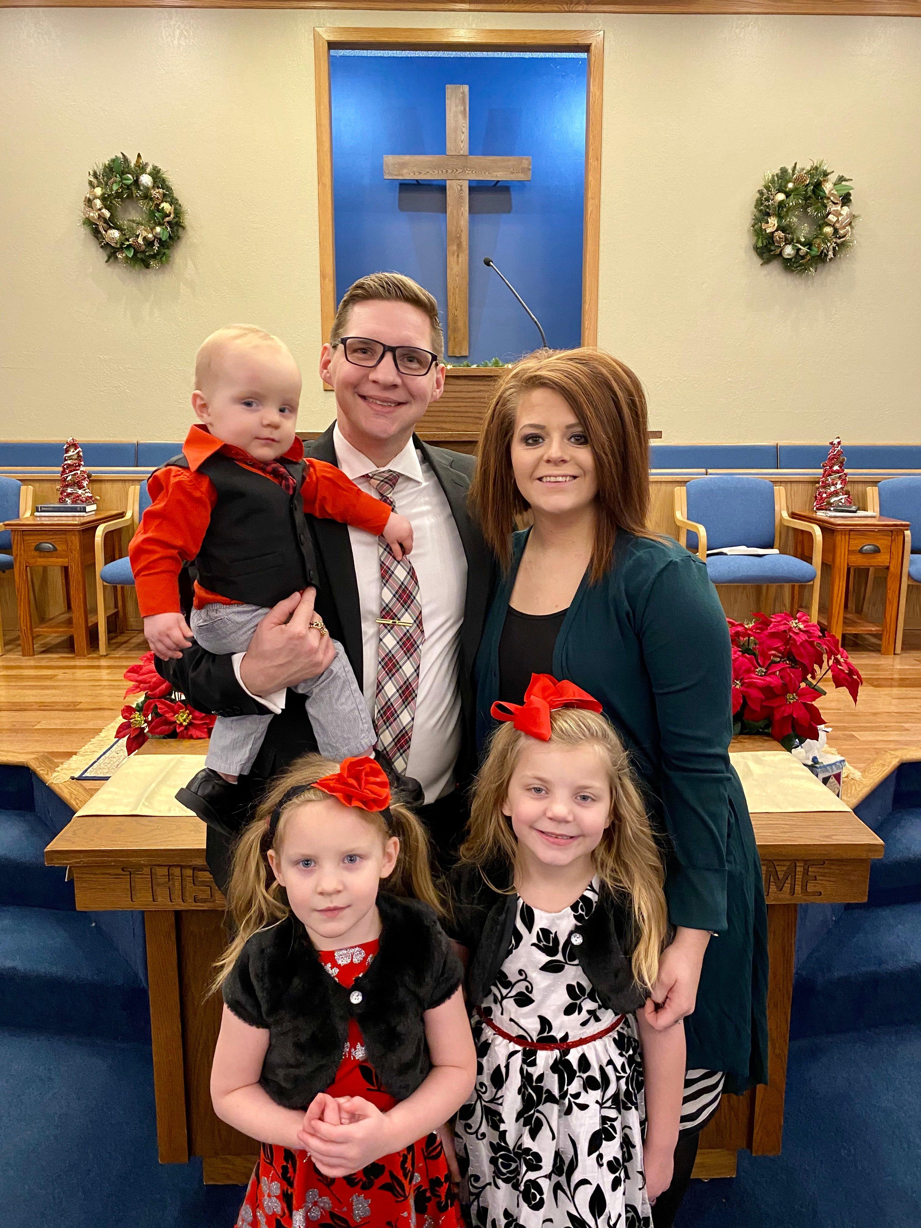 Pastor Matt and Lyndsey & Family