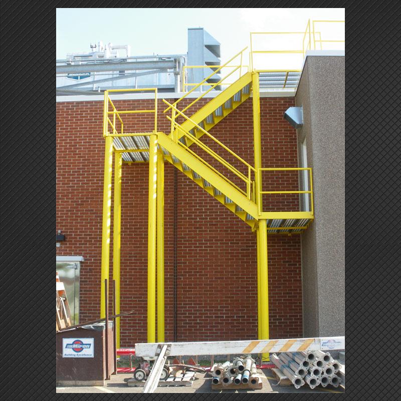 Custom Steel Staircase