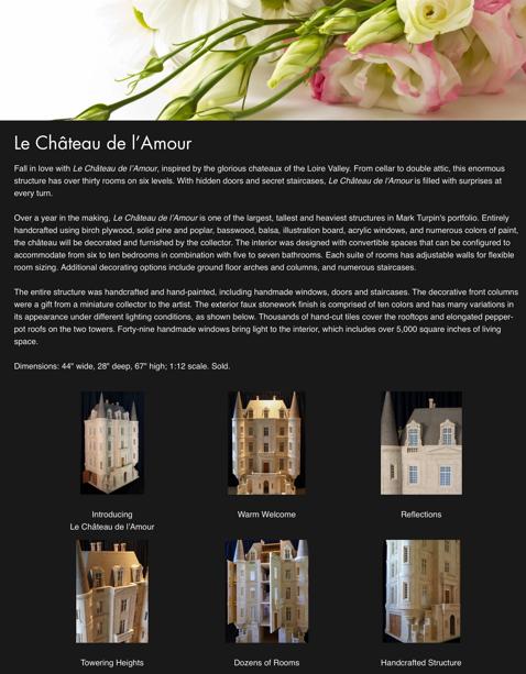 Le Château de l'Amour — 2020