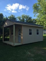 Clinton Custom Shed Installation | Gable Shed | Barn Style Shed