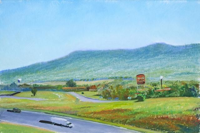 32. Mt. Jackson Exit, 6x9 op