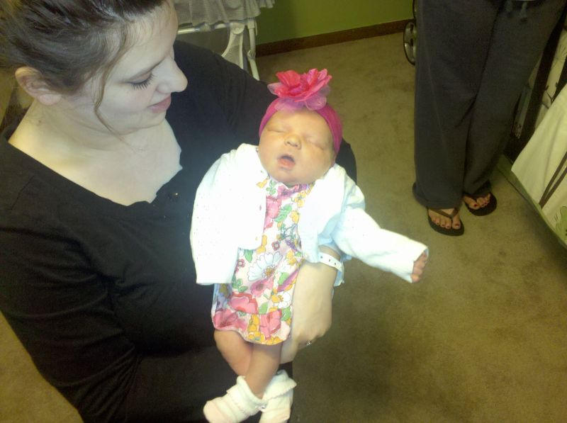 Our Grand Baby Addyson