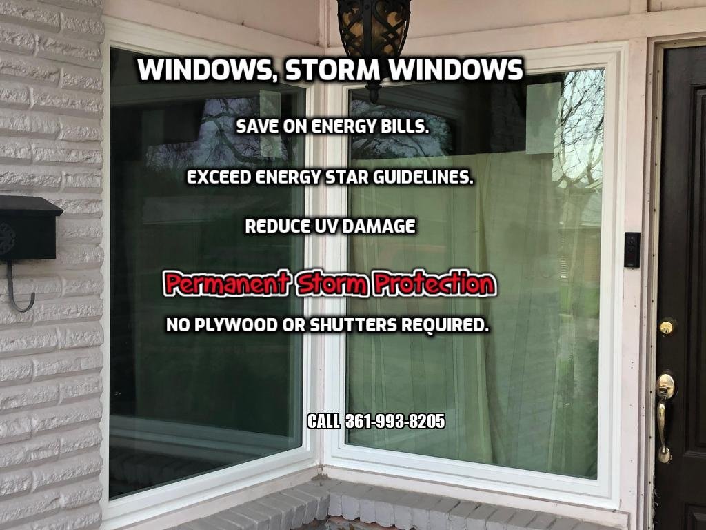Corpus Christi Window Contractor Since 1988: Window replacement - Hurricane windows