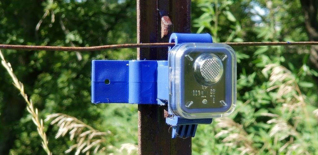 Blue Fence Monitor