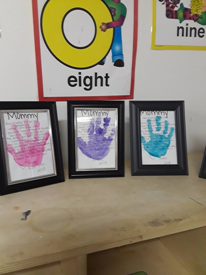 Moms' Hand Prints