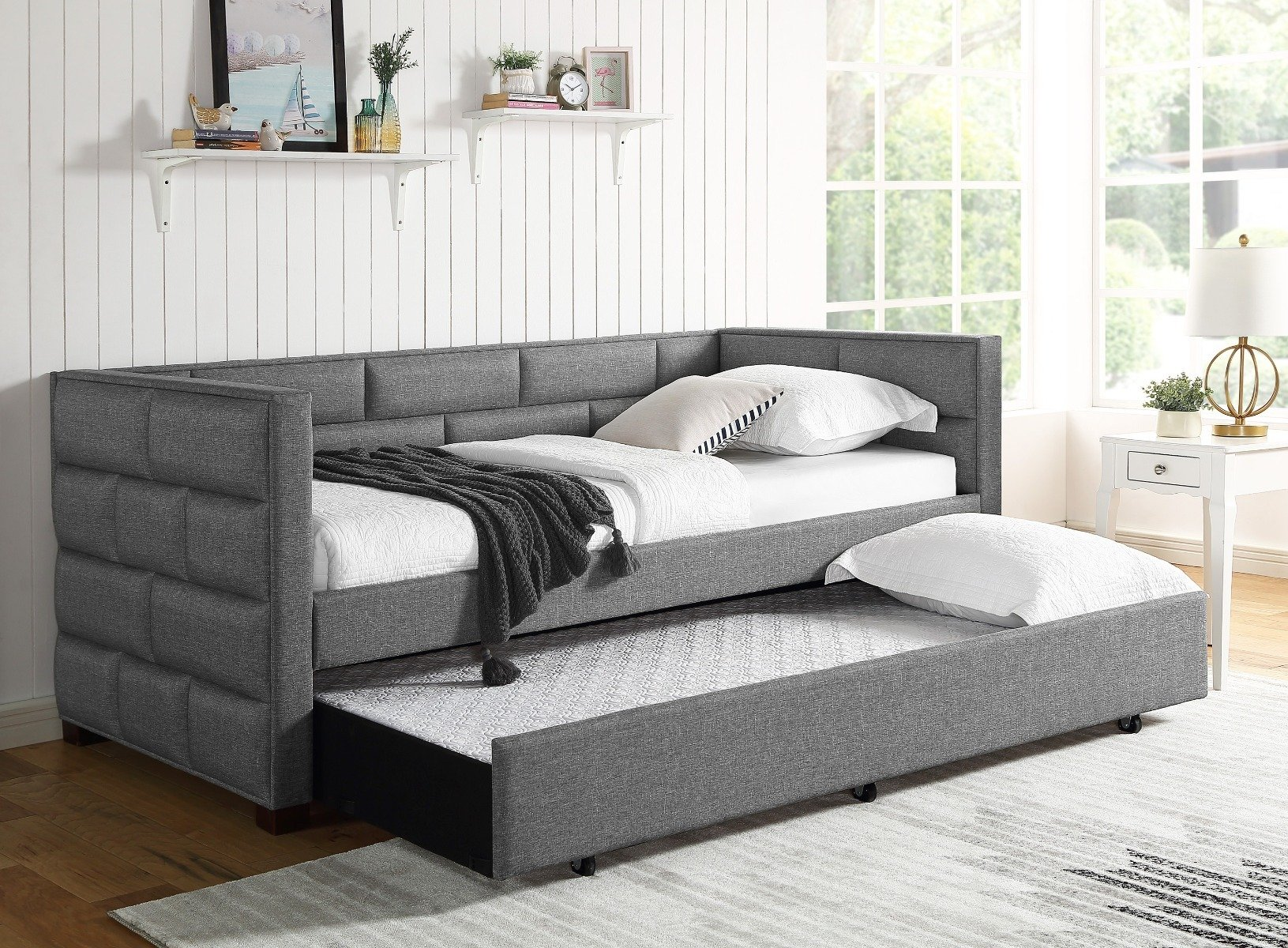 Flannery Grey Day Bed 5337GY