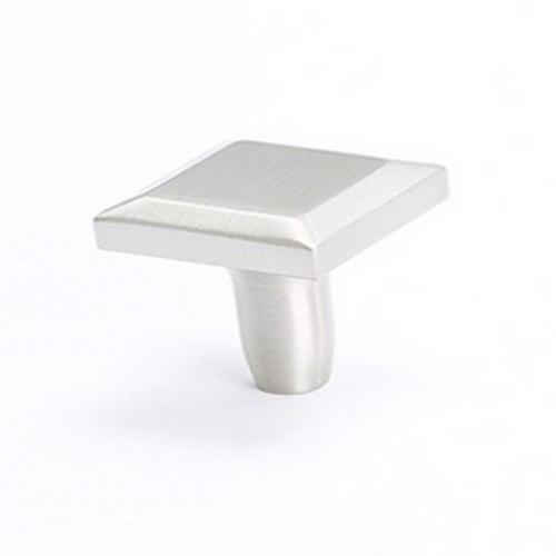 Berenson Uptown Metro Brushed Nickel Knob