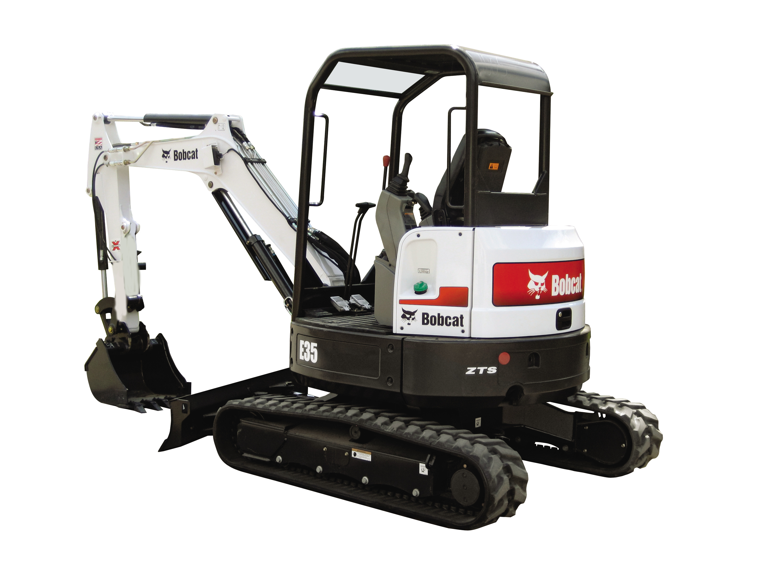 Bobcat E35 $250/day $750/week $2250/month
