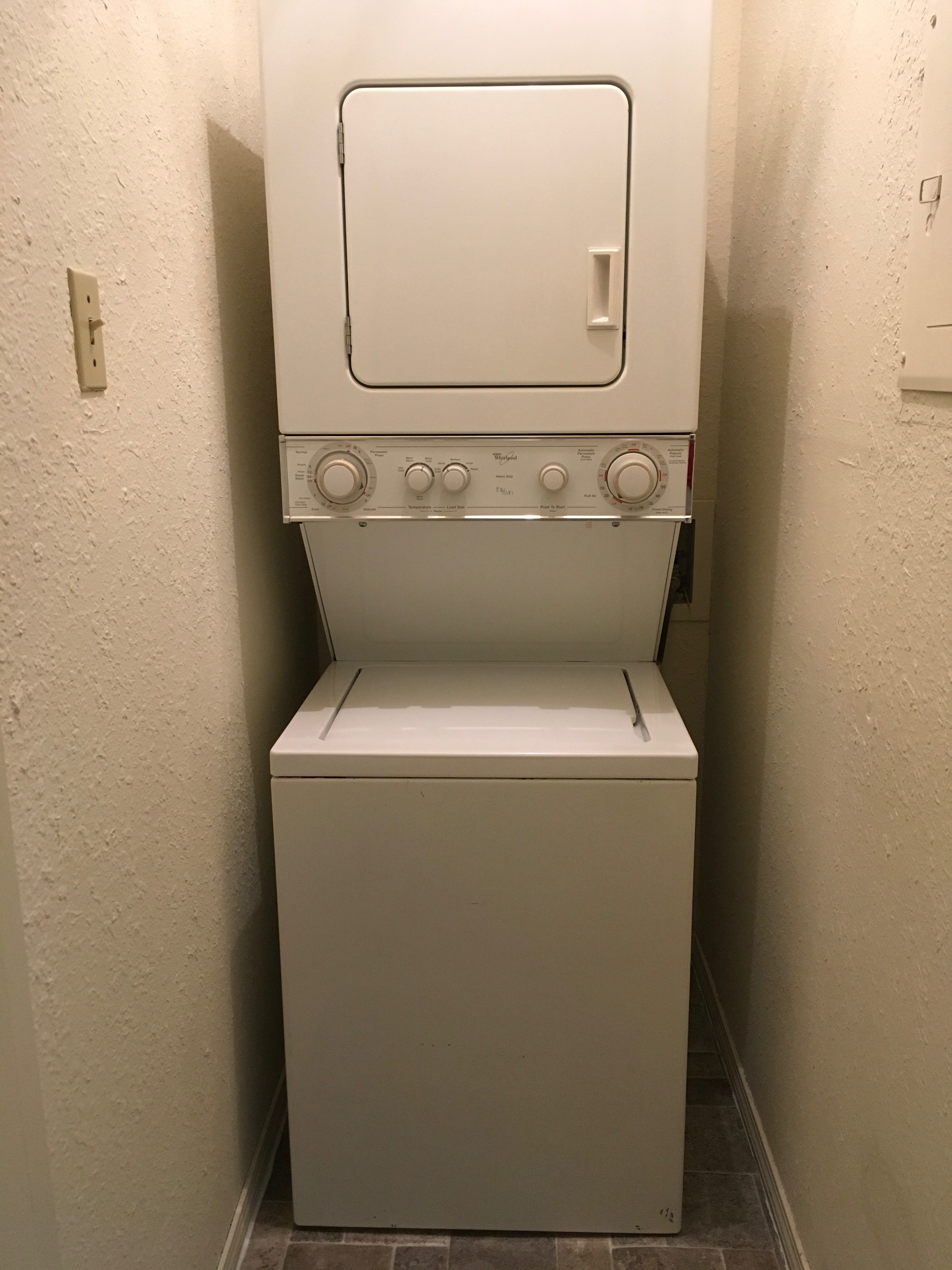 Stackable Washer & Dryer Included