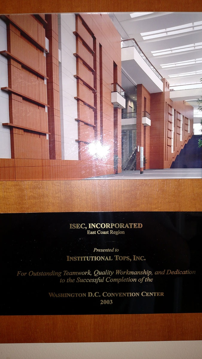 ISEC, Incorporated Award