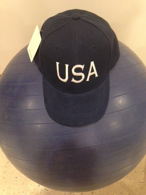 USA Cap Embroidery
