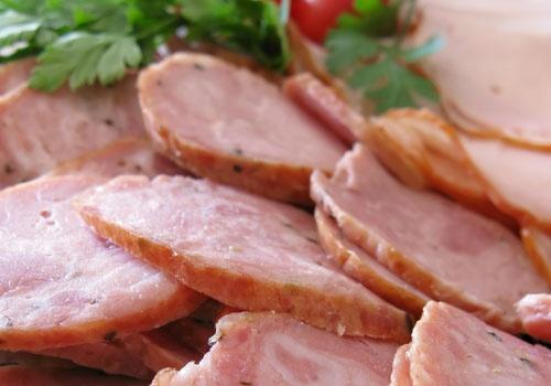 Sausage & Ham Platter