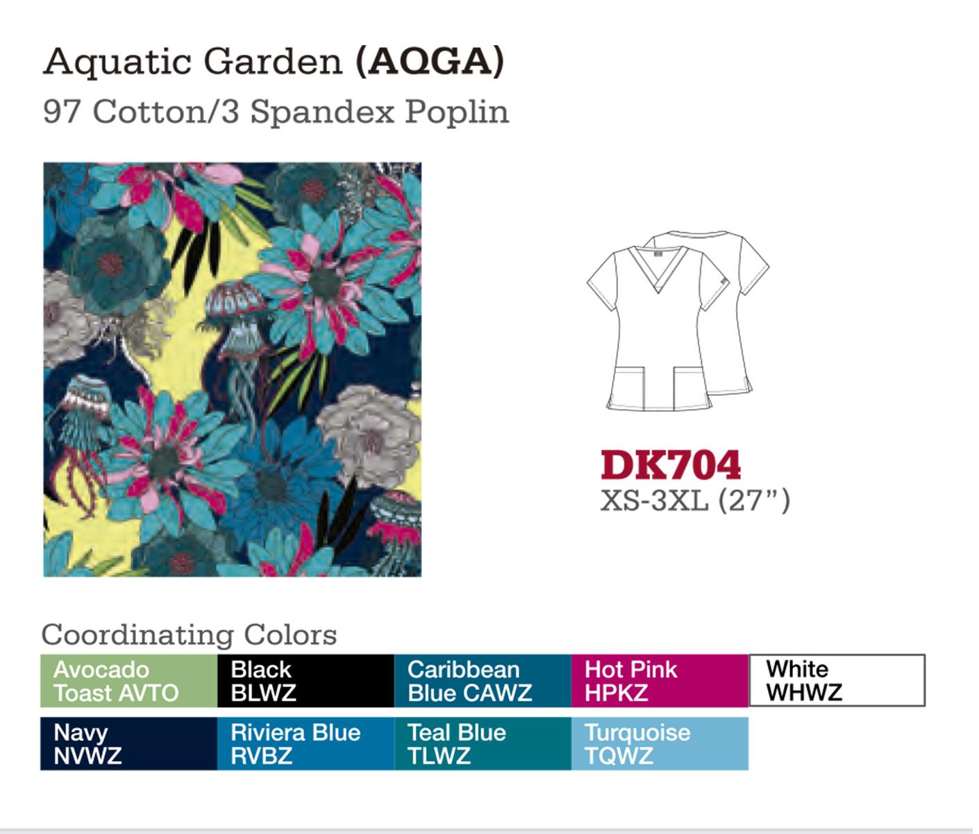 Aquatic Garden. DK704.