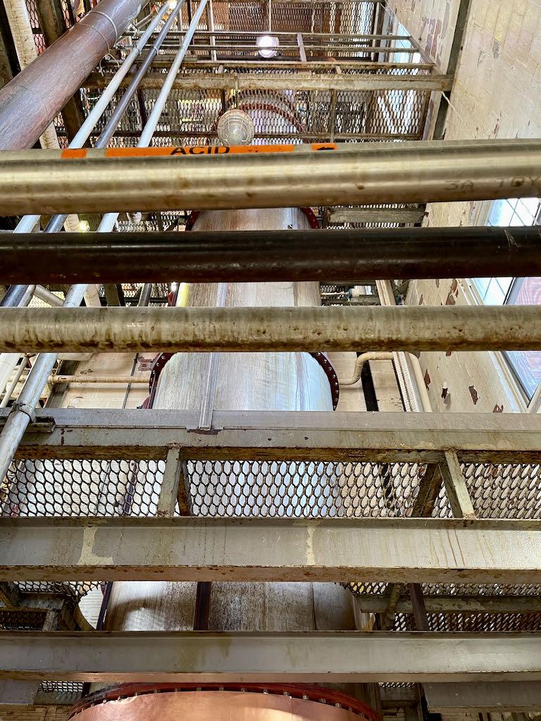 41 Foot Tall Column Still - Green River Distilling Co