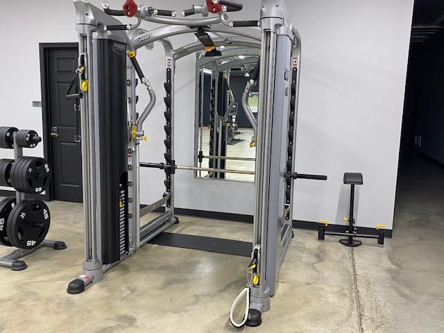Multi use weight machine.