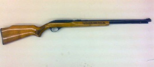 Marlin model 60 refinished with high gloss polyurethane.