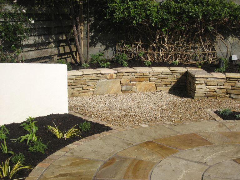 Attractive Stone Wall In Carrickmines
