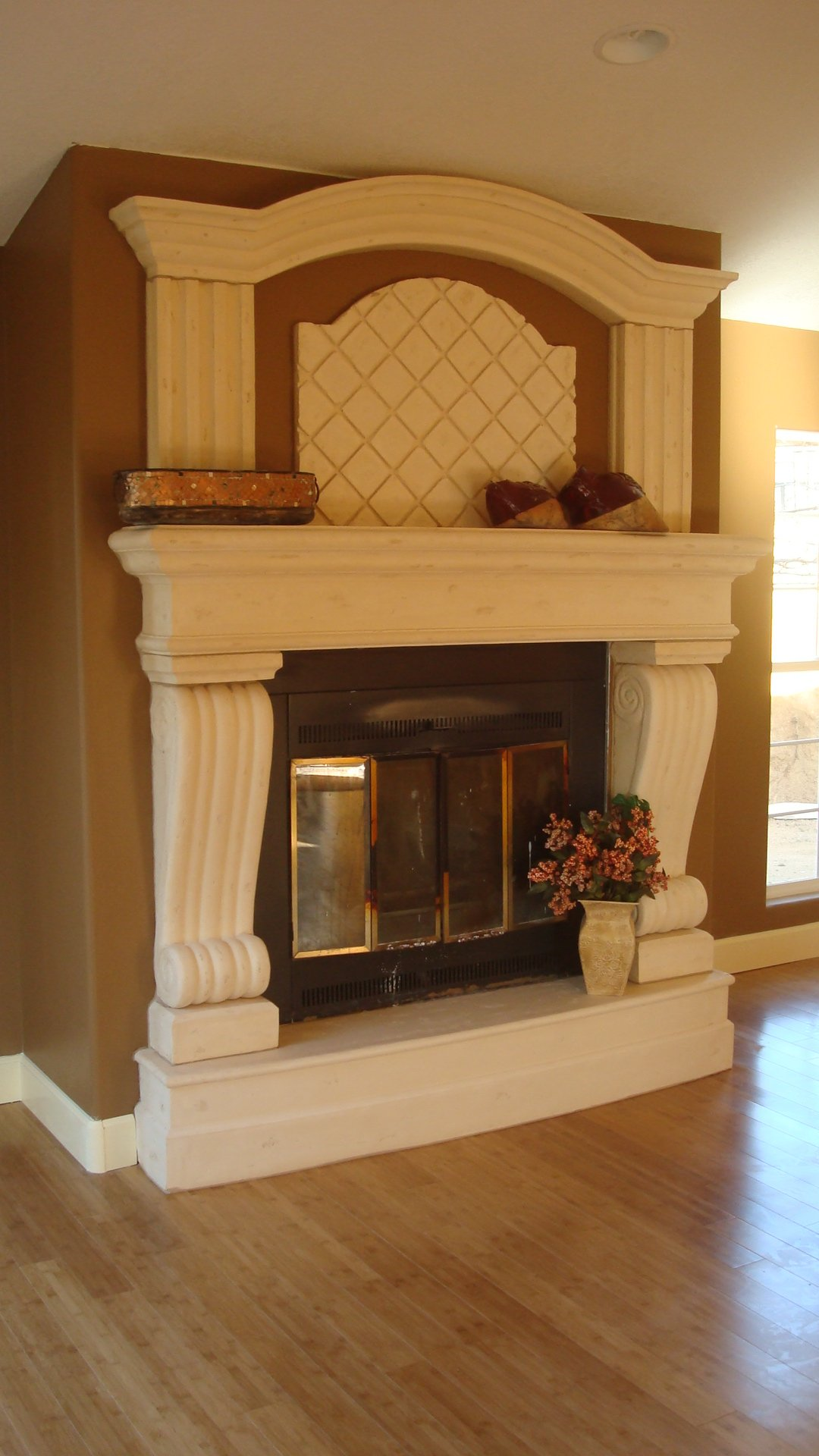 Limestone Mantle