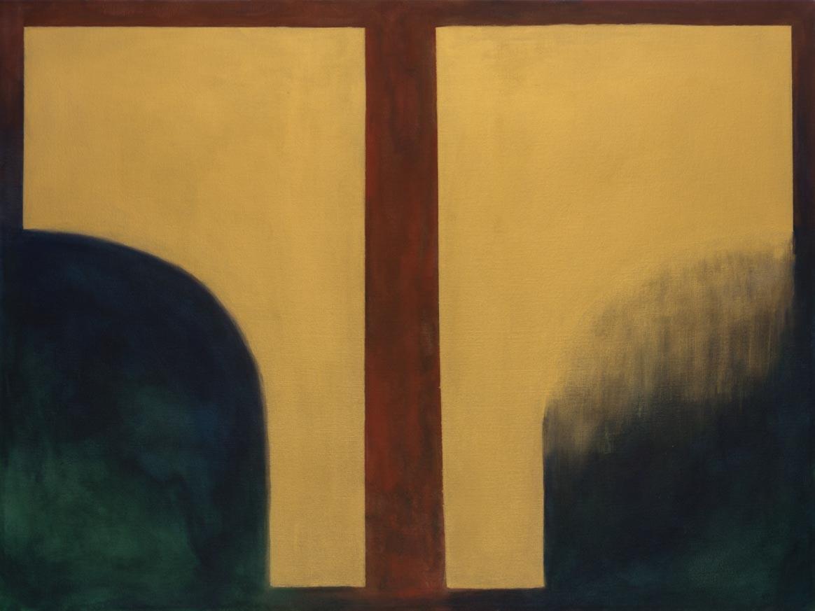 Tristezza y Felicidad, 2017 Acrilico sobre tela 100 x 100 cm