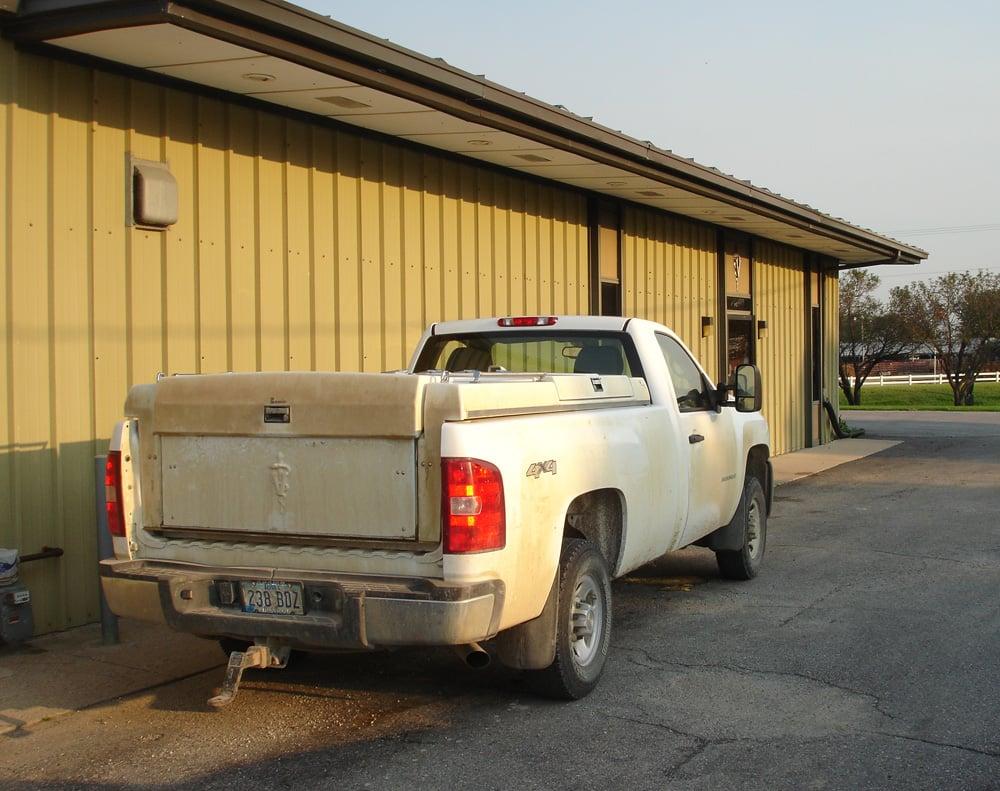 Truck for farm calls