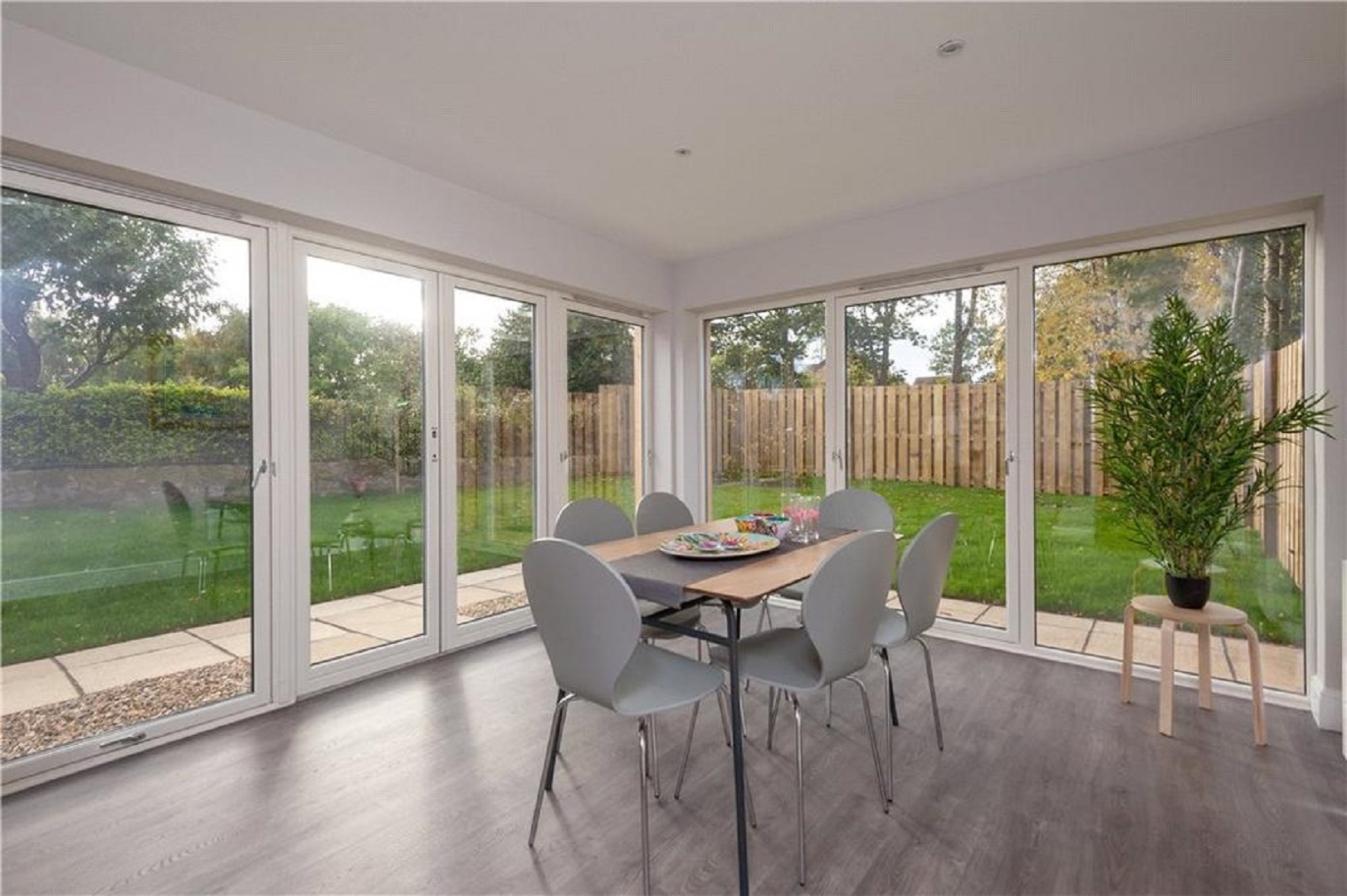 Dining Room of New Build Houses