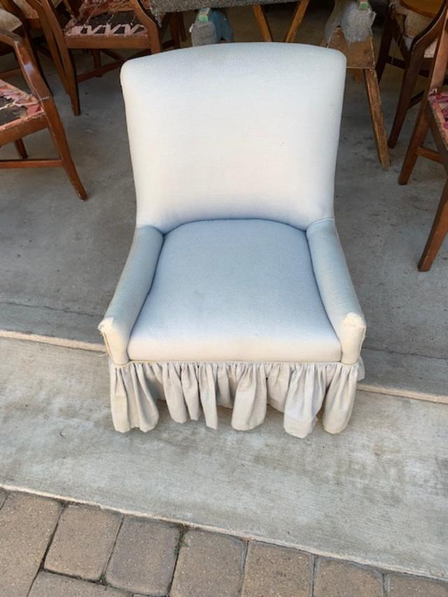 Custom Upholster Chair Before