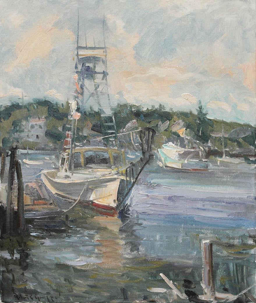 Stick boat 25x30