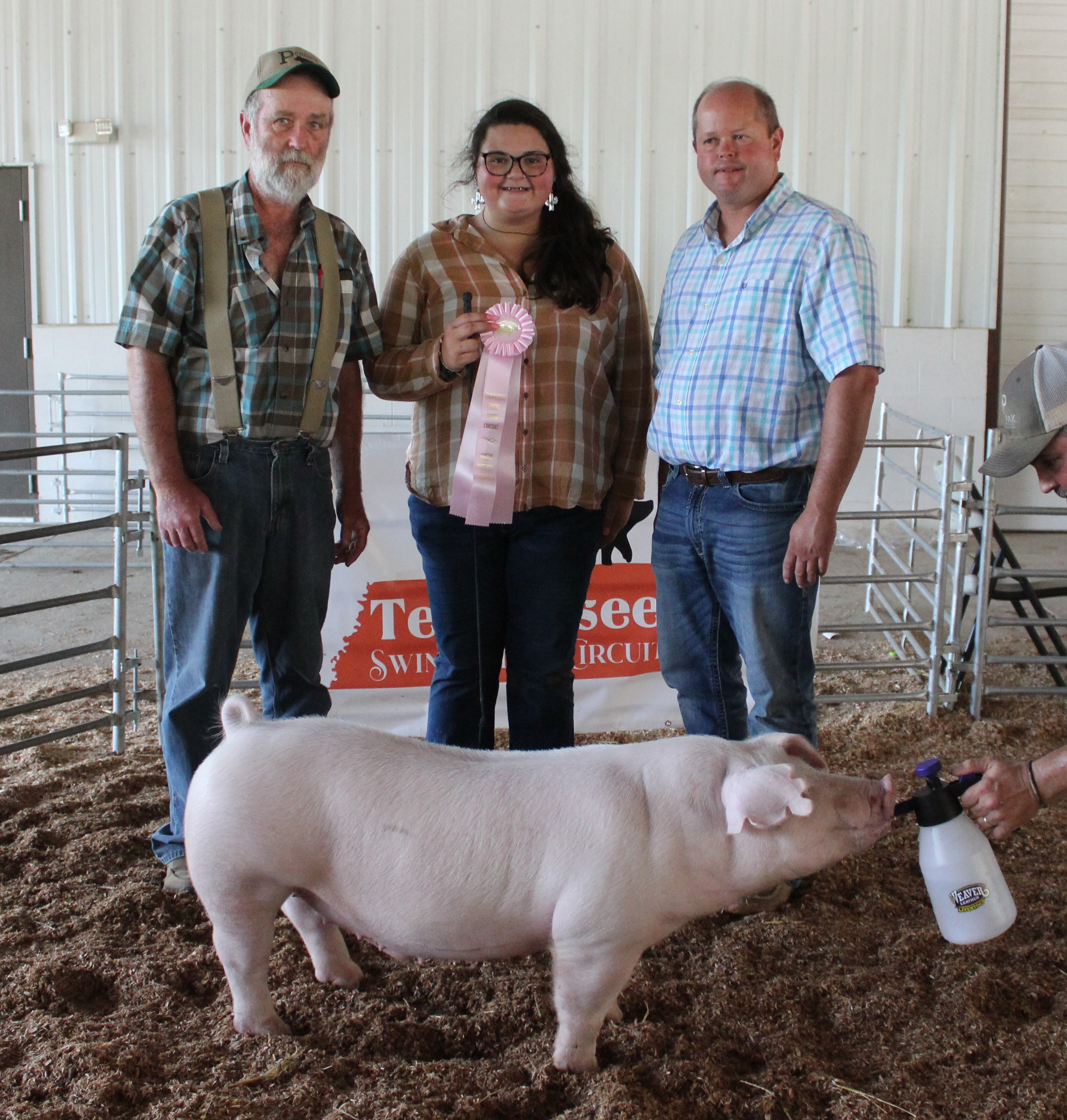Marlo Shelby Smith County Swine Shootout Reserve Champion  Chester White Barrow