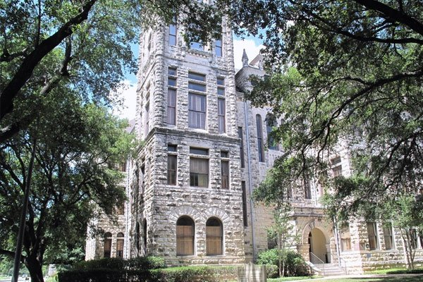 Old Main At Southwestern University