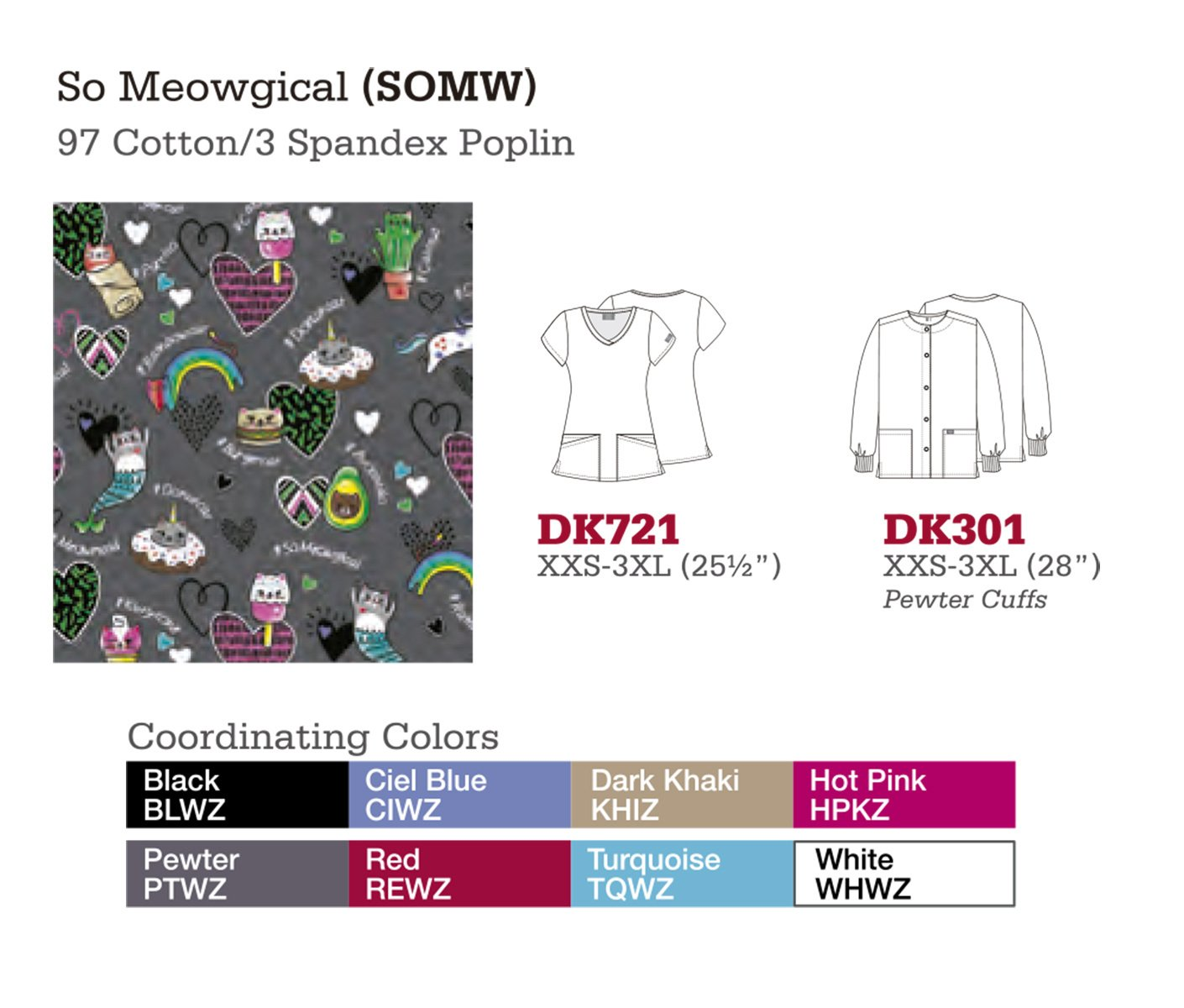 So Meowgical. DK721. DK301.