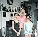 Jean Jansem, April 1997 When the Artist Asked Monica and Jessica Rienzo to Sit for Him