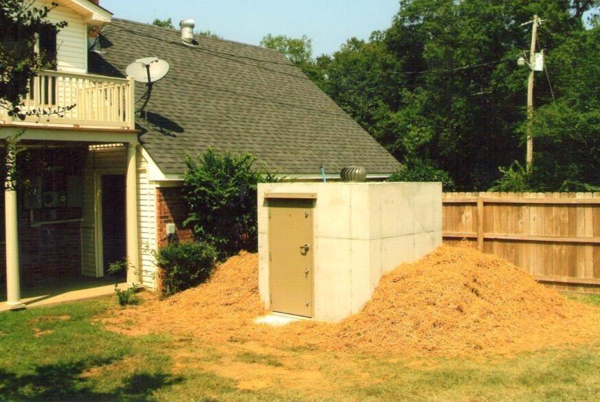 Bunker Style Shelter