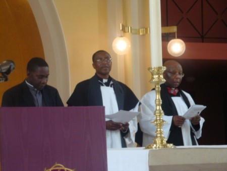 Rev. Maurice Browne, Rev. Ken Davies & Rev. Lionel Thomas