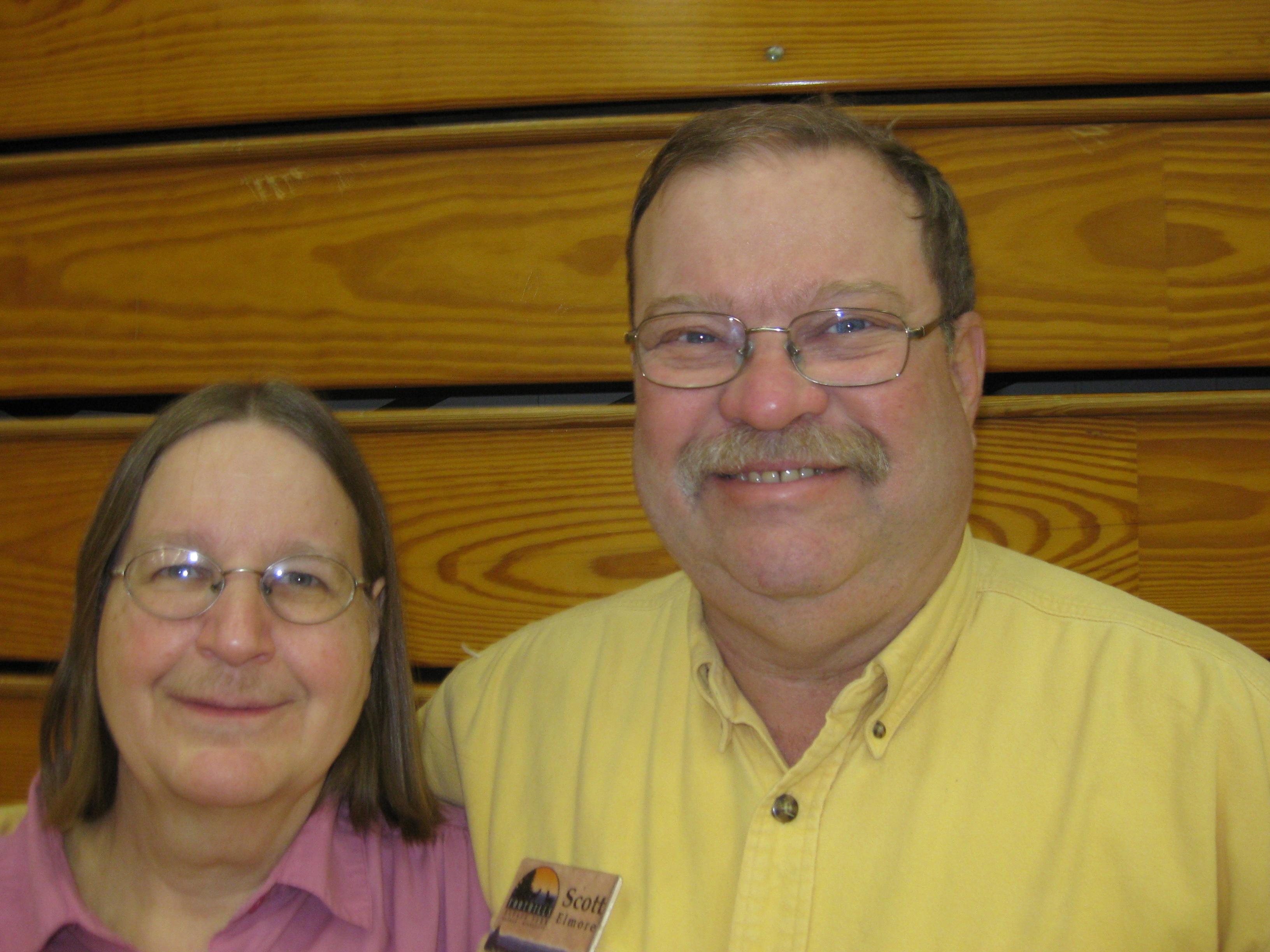 Scott and Linda
