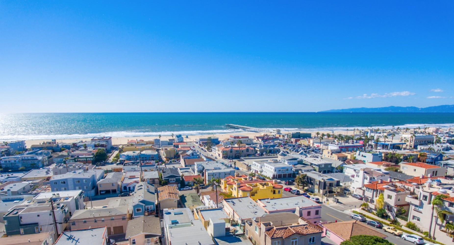 HB Ocean View Townhouse Aerial View