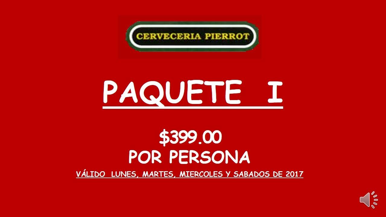 PAQUETE I